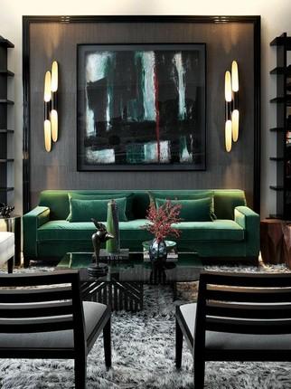 20 Velvet Sofas for Modern Living Rooms (4) velvet sofas 20 Velvet Sofas for Modern Living Rooms 20 Velvet Sofas for Modern Living Rooms 4