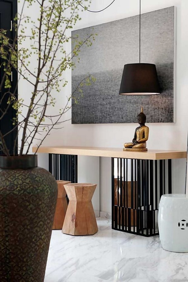 Contemporary Foyer Console : Modern console tables for contemporary interiors