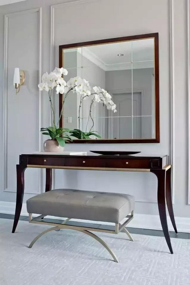 elegant console table.  25 Modern Console Tables for Contemporary Interiors