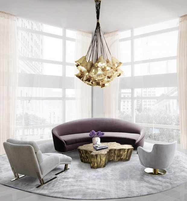 Modern Living Room L Intended Design Inspiration