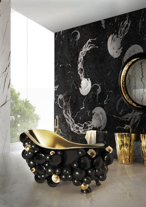 Luxury Gold And Black Furniture For Modern Interiors 3