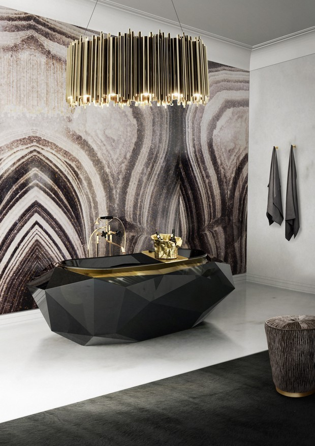 Luxury Gold And Black Furniture For Modern Interiors 6