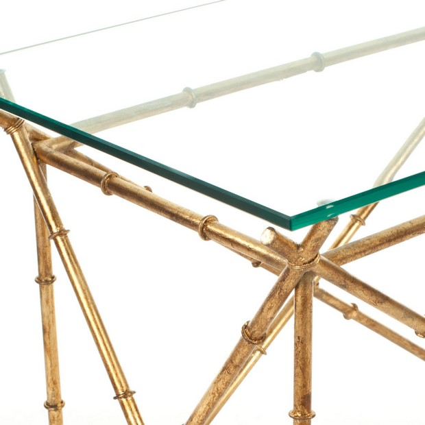 Glass console by Safavieh (1) Modern Console Table How to Choose a Modern Console Table Glass console by Safavieh 1