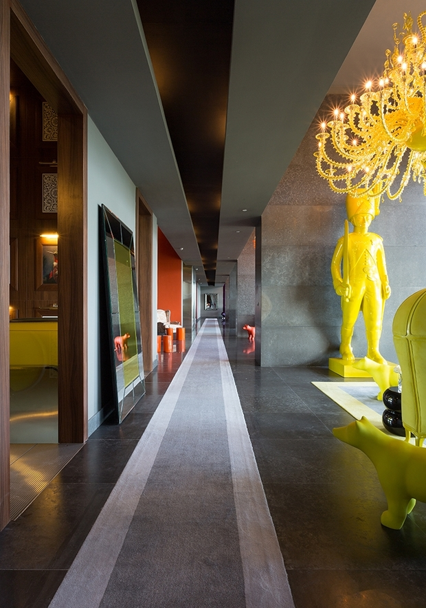 philippe starck inspiring interior design across 5 continents. Black Bedroom Furniture Sets. Home Design Ideas