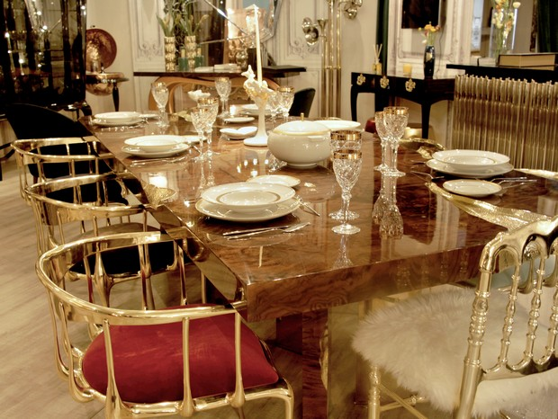 Salone del mobile 2016 trends for dining room decor for Dining room trends 2016