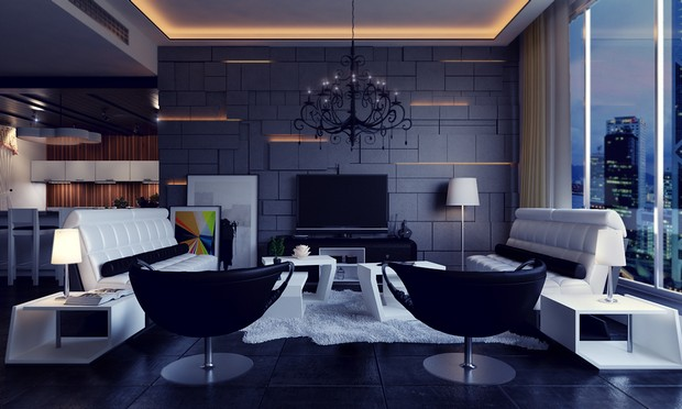 Modern Living Rooms with Elegant and Clean Lines (8) living rooms Modern Living Rooms with Elegant and Clean Lines Modern Living Rooms with Elegant and Clean Lines 8