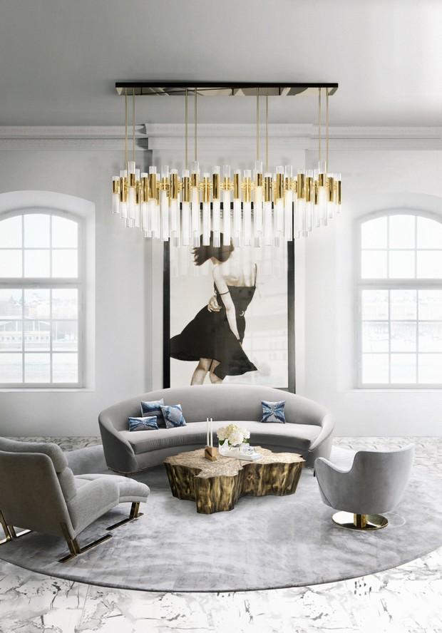 Luxury Interiors design inspiration - 17 shades of gray for luxury interiors
