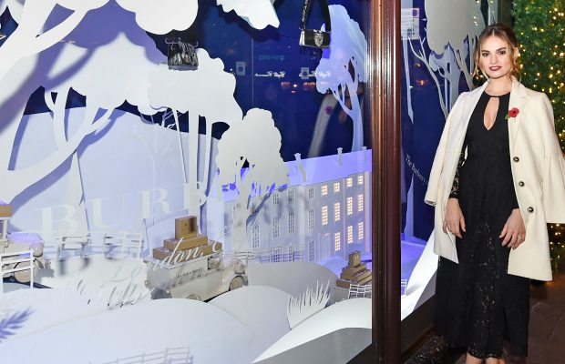 Harrods Teams Up With Burberry For 2016 Holiday Windows
