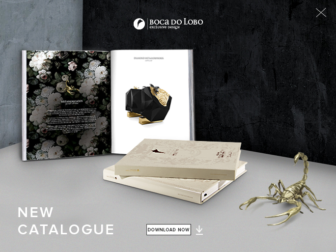 BOCA DO LOBO CATALOGUE - THE ULTIMATE SOURCE OF EXCLUSIVE DESIGN: After some time working on this new project, Boca do Lobo is proud to finally present their newest catalog – the ultimate guide for luxury furniture and limited edition designs. This new catalog is also a tribute to the founders, partners and all teams past and present.  DOWNLOAD FREE CATALOGUE HERE!
