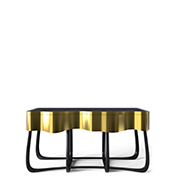 black furniture Luxury Gold and Black Furniture for Modern Interiors sinuous boca do lobo thumbnail