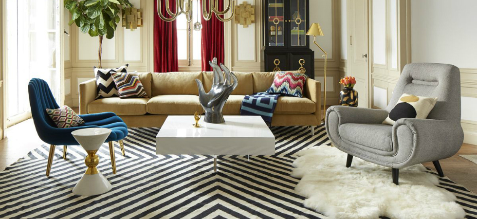 10 Living Rooms by Jonathan Adler to Inspire You this Spring