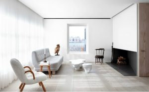 Antiques Dealer's Transformed into a Scandinavian Home by John Pawson