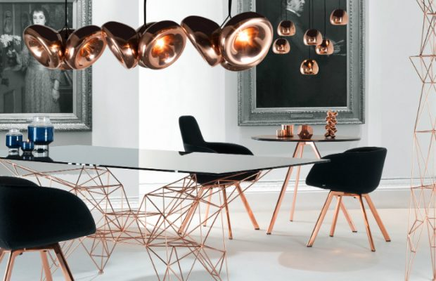 Trends 2017: Metallic Interiors