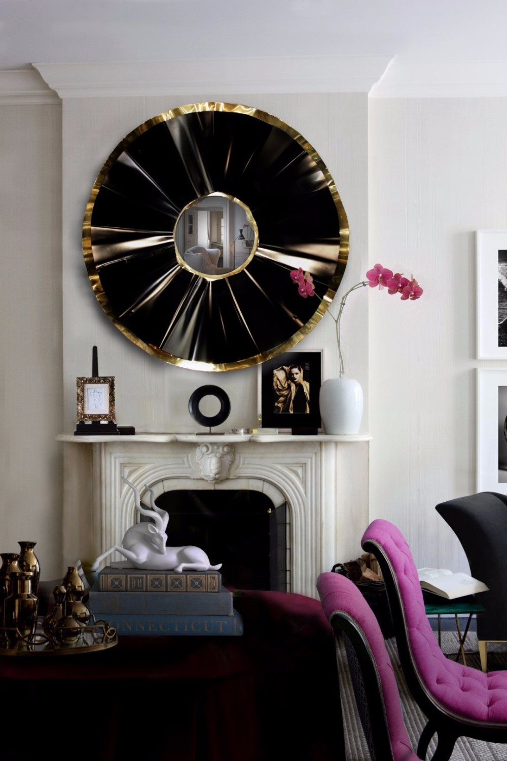 wall mirror 20 Exquisite Wall Mirror Designs for Your Living Room Covet House 2 e1476540497729