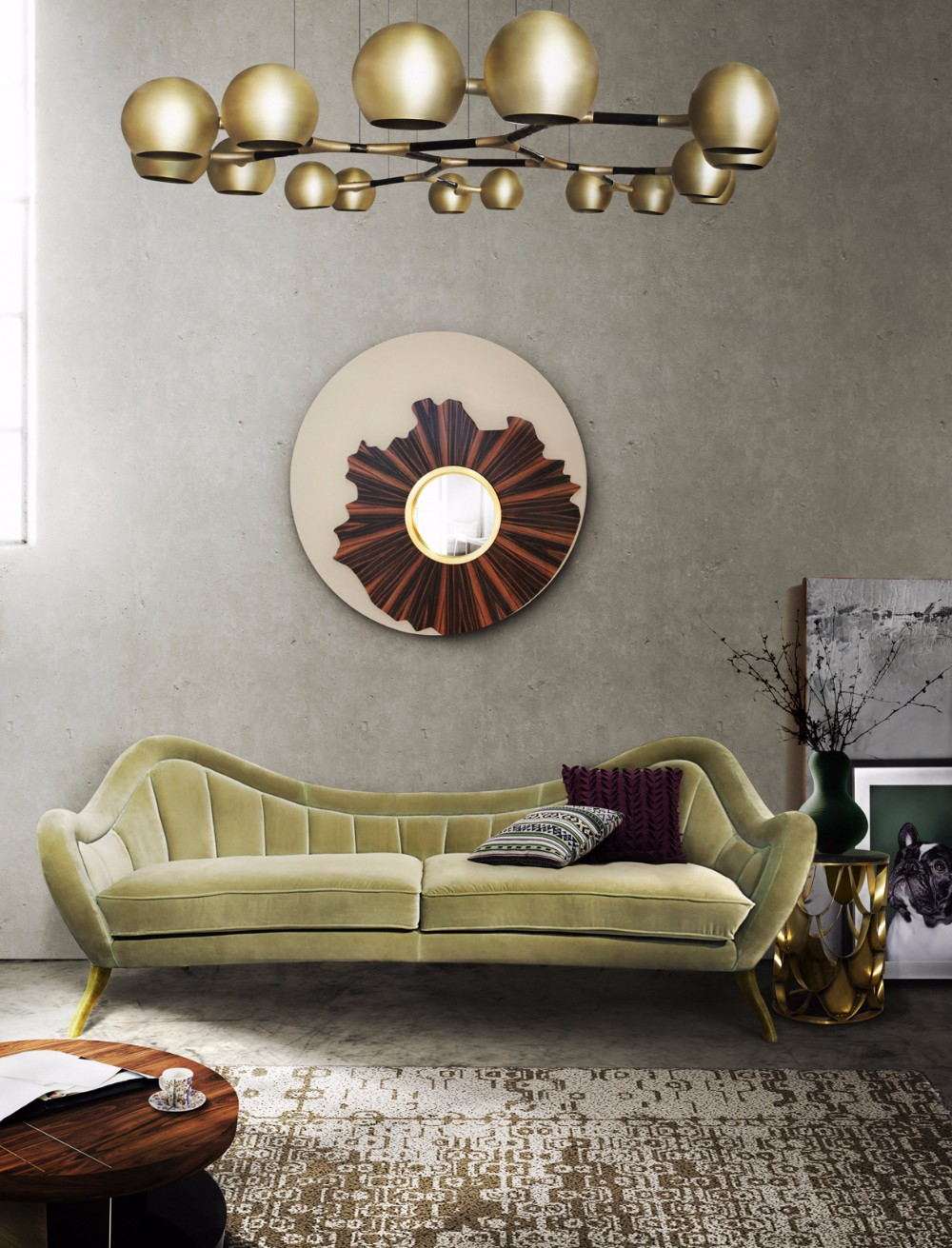 wall mirror wall mirror 20 Exquisite Wall Mirror Designs for Your Living Room KAAMOS 3
