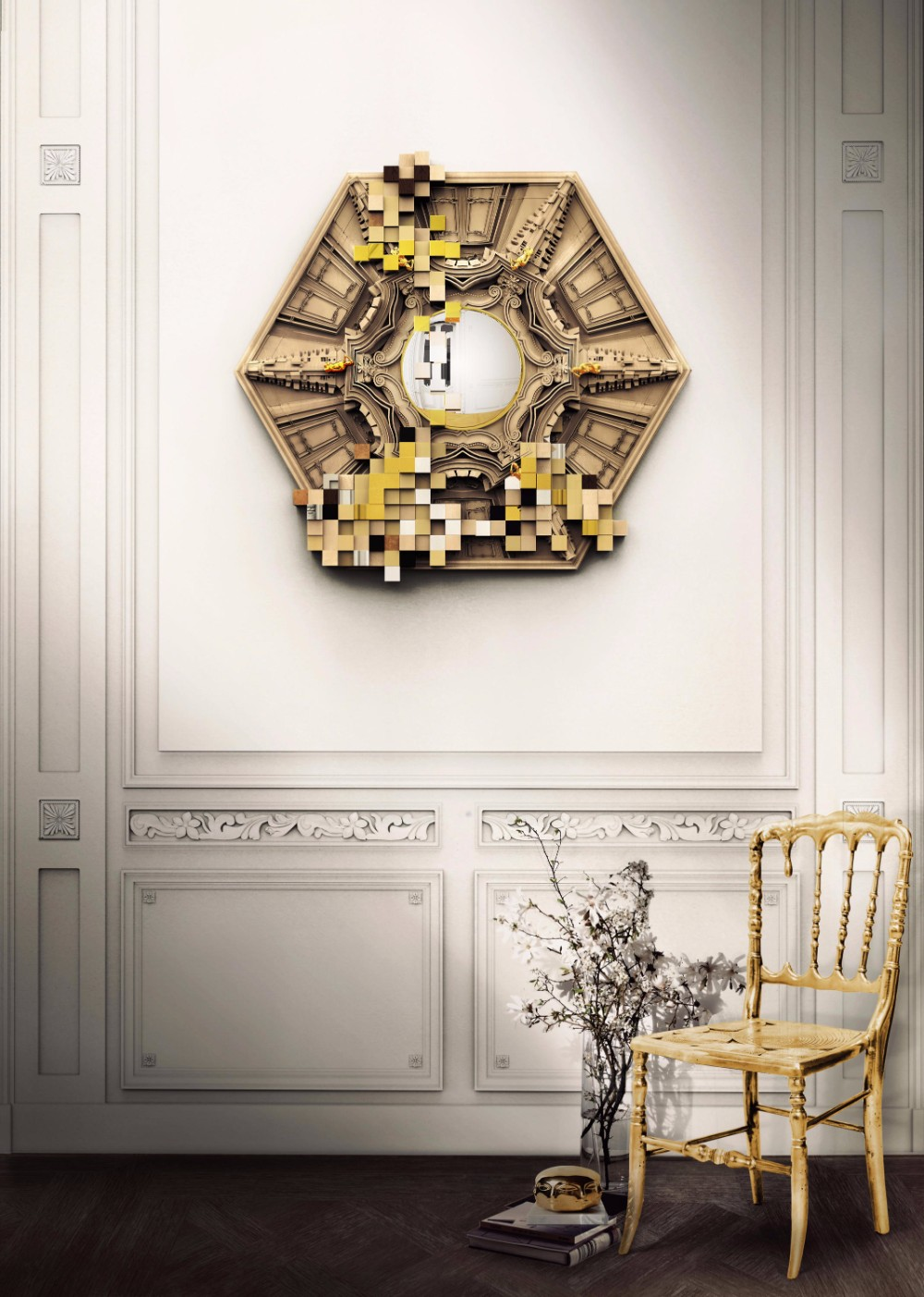 wall mirror 20 Exquisite Wall Mirror Designs for Your Living Room piccadilly 1 h