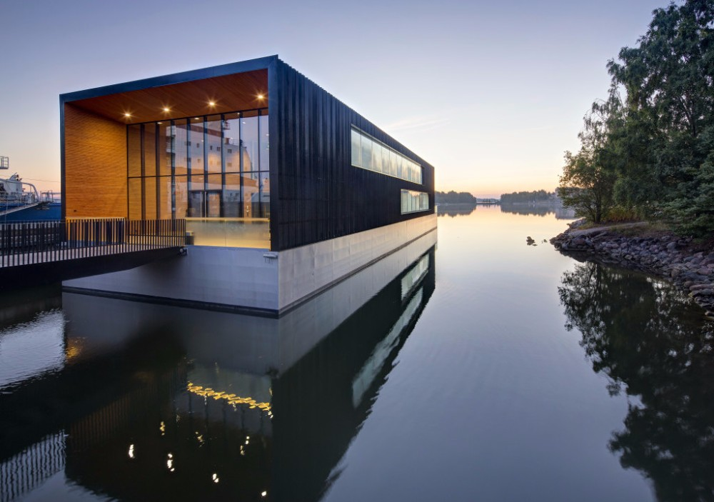 float Floating Designs That are Making Waves ICEBREAKERS HEAD QUARTERS