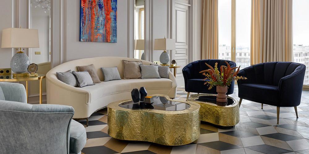 Design project modern apartment by ekaterina lashmanova for Apartment interior design trends 2017