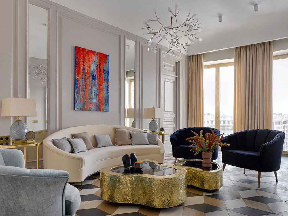 Ekaterina design project Design Project: Modern Apartment by Ekaterina Lashmanova Efr7108