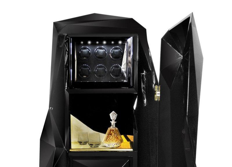 Private Collection : Boca do Lobo Keeps Safe your Treasures   Private Collection: Boca do Lobo Keeps your Treasures Safe diamond safe box HR 02 1