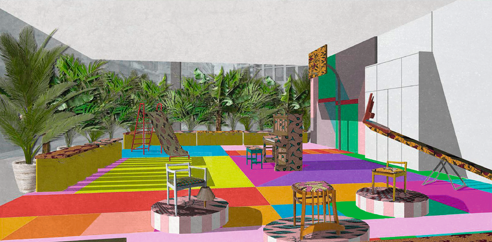 London Design Festival What you Can't Miss At London Design Festival 2017 Estate Playground by Yinka Ilori