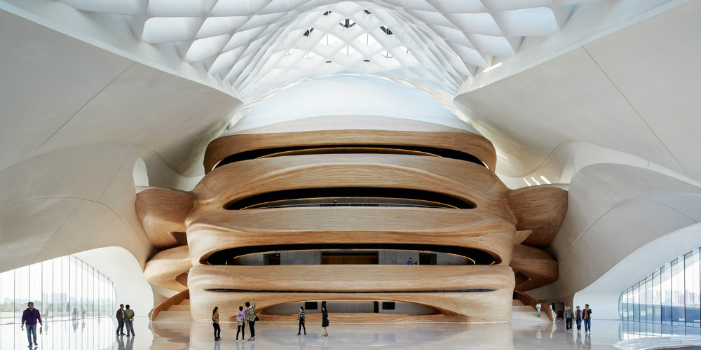 architecture Sinuous HarbinOpera House Architecture by StudioMAD harbin opera house cover