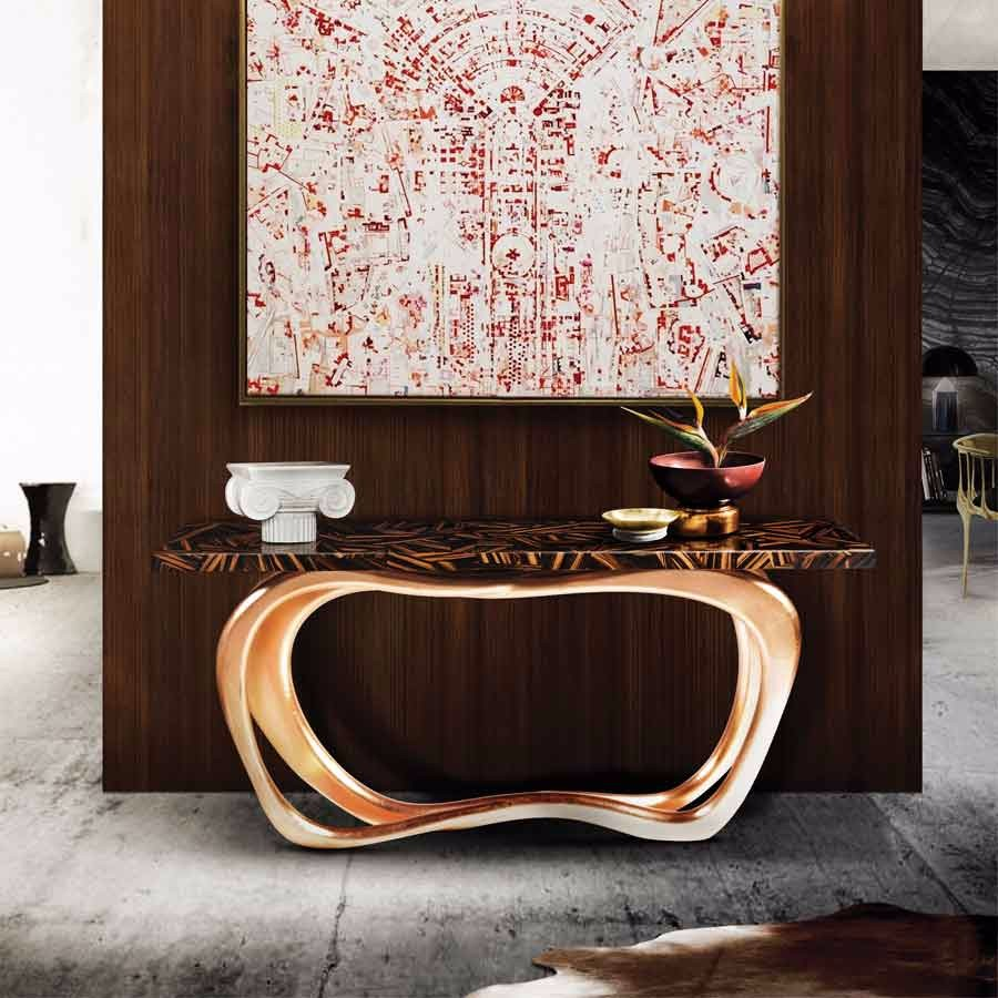 design week mexico Boca do Lobo is Getting Ready for Design Week Mexico 2017 infinity console by boca do lobo