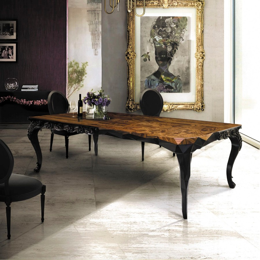 design week mexico Boca do Lobo is Getting Ready for Design Week Mexico 2017 royal dining table by boca do lobo