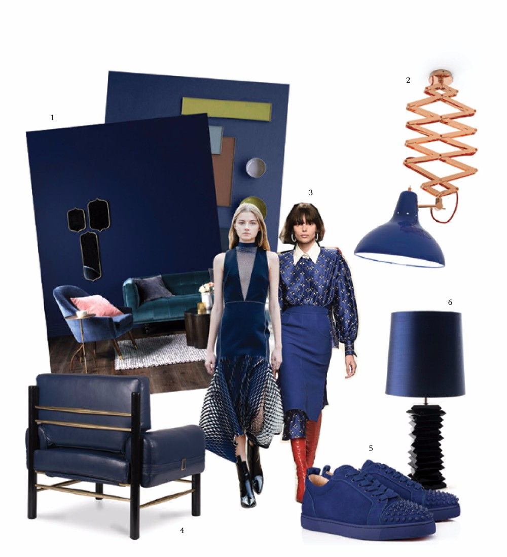 Navy Blue Color Trend