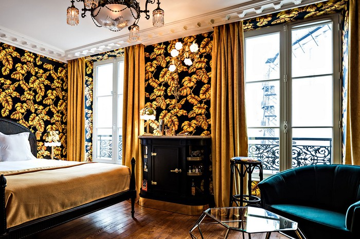 Luxury Hotel Providence Hotel, A Quaint And Charming Luxury Hotel in Paris hotel provence paris 3