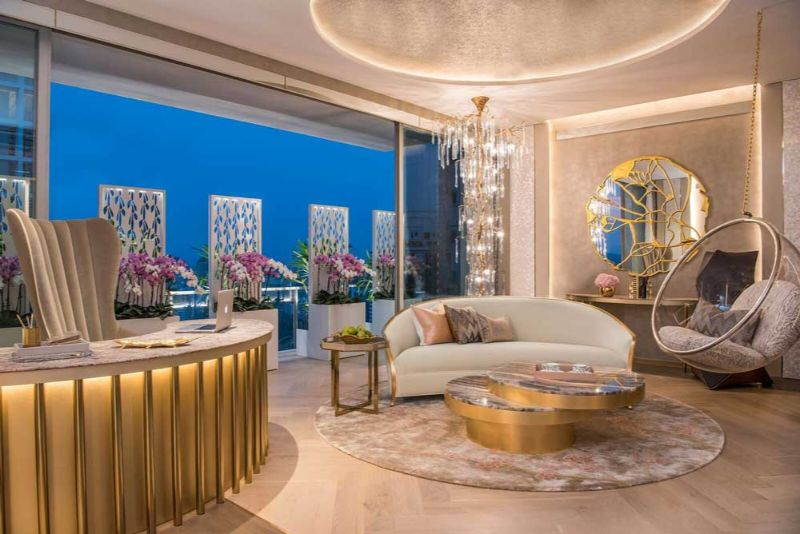 Exquisite Interior Design Projects by a Portuguese Design Brand interior design project Exquisite Interior Design Projects by a Portuguese Design Brand A Glamorous Apartment in the Heart of Singapore