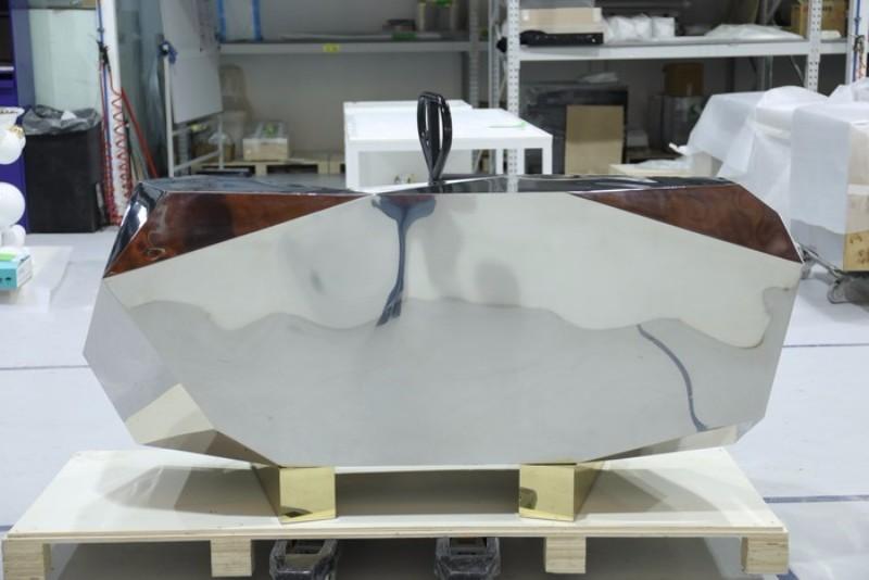 sideboard Diamond Pyrite Sideboard: a Masterpiece Unveiledby Boca do Lobo Diamond Pyrite by Boca do Lobo 3