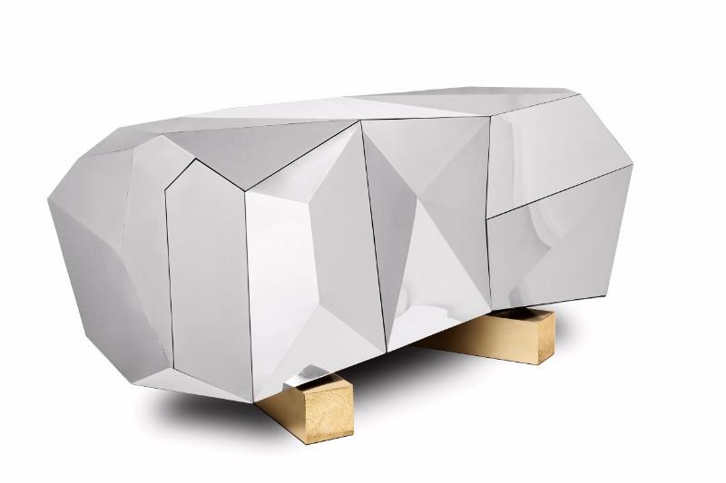 sideboard Diamond Pyrite Sideboard: a Masterpiece Unveiledby Boca do Lobo Diamond Pyrite by Boca do Lobo 5