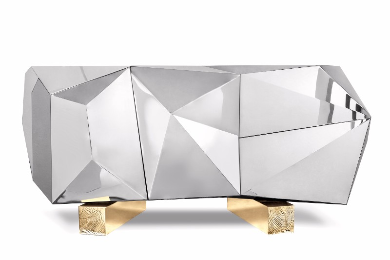 Diamond Pyrite Sideboard: a Masterpiece Unveiled by Boca ...