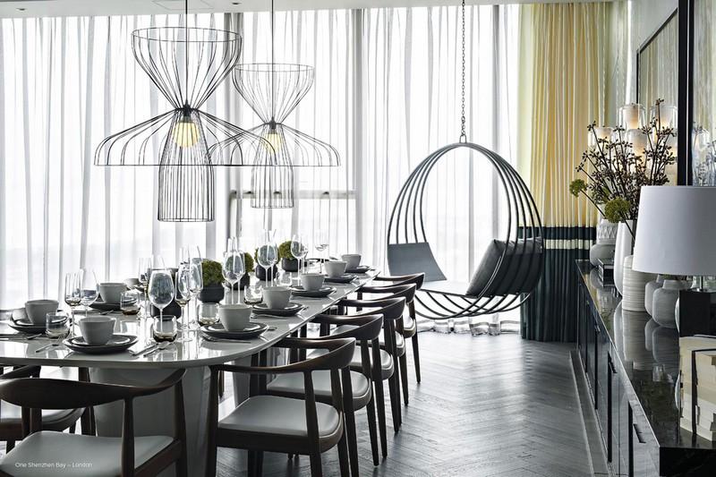 kelly hoppen One Shenzhen Bay, Timeless Luxury designed by Kelly Hoppen One Shenzhen Bay 5
