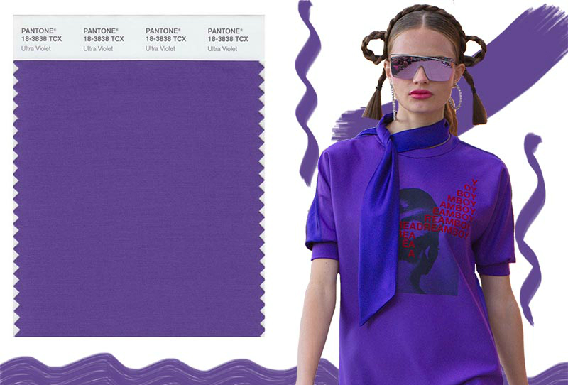 pantone Pantone Revealed 'Ultra Violet' As 2018 Color of The Year spring summer 2018 Pantone colors trends Ultra Violet
