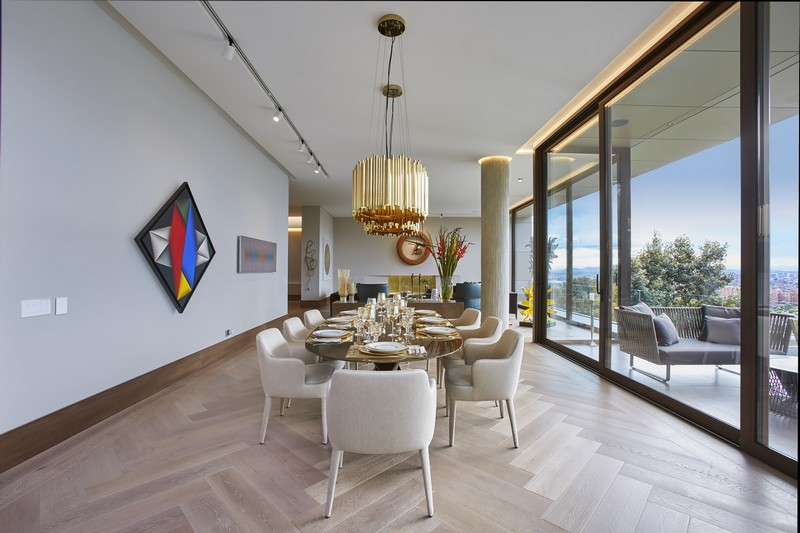 contemporary house Contemporary House in Bogota Merges Between Art and Nature modern design 13