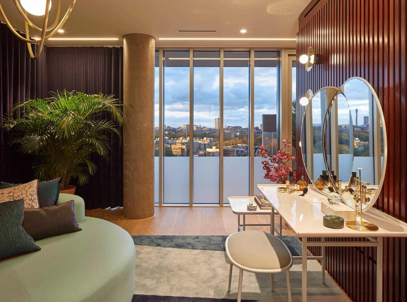 luxury penthouse Nova Building: 1960s Modernism's Luxury Penthouse Nova Building 1960s Modernisms Luxury Penthouse 9