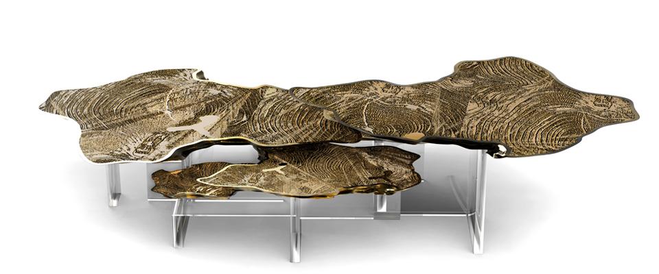 showroom Sneak Peak: The Newest Luxury Showroom of Covet Group in Paris monet center table 3