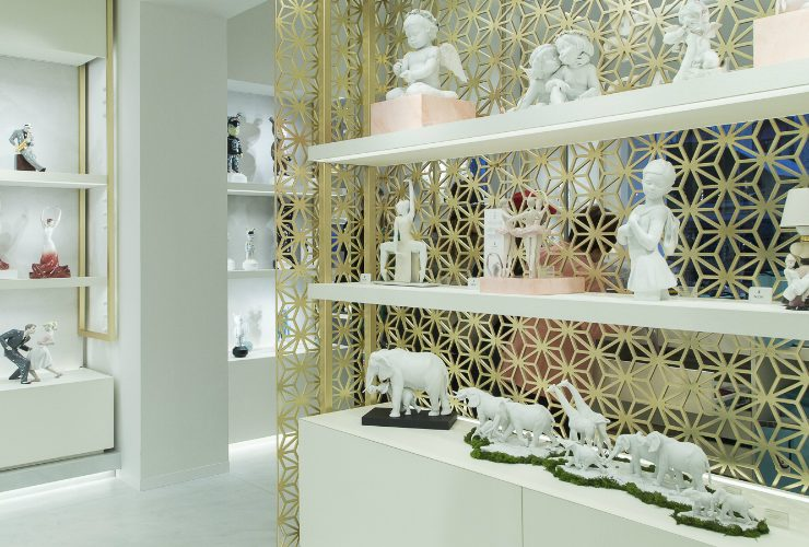 Lladró Lladró Reveals Its New Boutique Concept In Madrid lladro new boutique in madrid 740x500