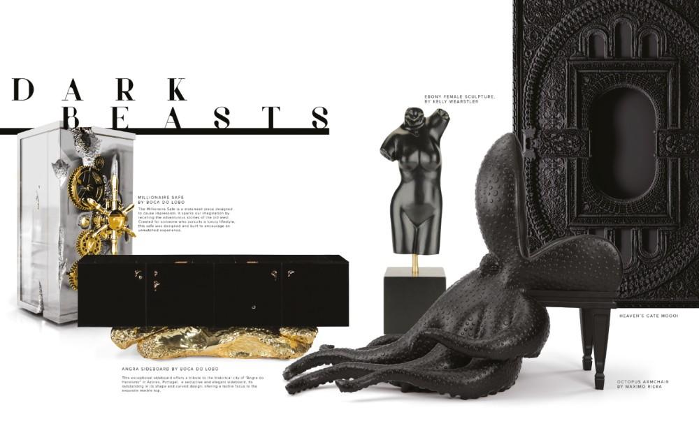 design Legacy: Design and Craftsmanship Testimony by Boca do Lobo Darkt Beasts Legacy Vol2