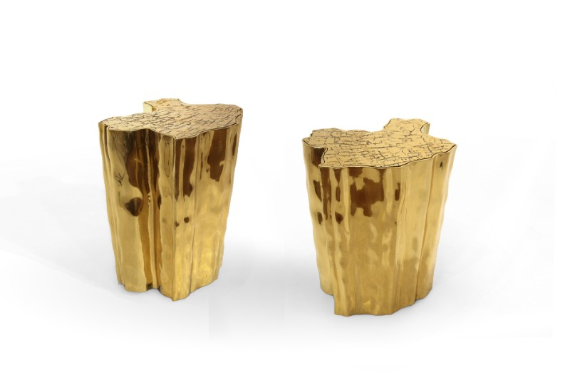 lladro Lladro And Boca Do Lobo Present An Innovative And Exclusive Lifestyle eden side table gold boca do lobo 04