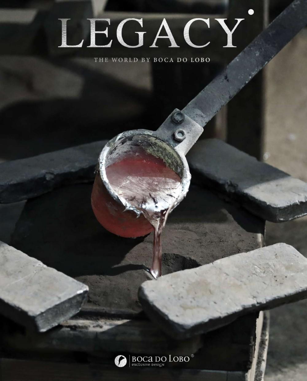 design Legacy: Design and Craftsmanship Testimony by Boca do Lobo legacy 2 magazine by boca do lobo 000