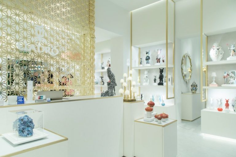 lladro Lladro And Boca Do Lobo Present An Innovative And Exclusive Lifestyle lladro new boutique in madrid 15 768x512