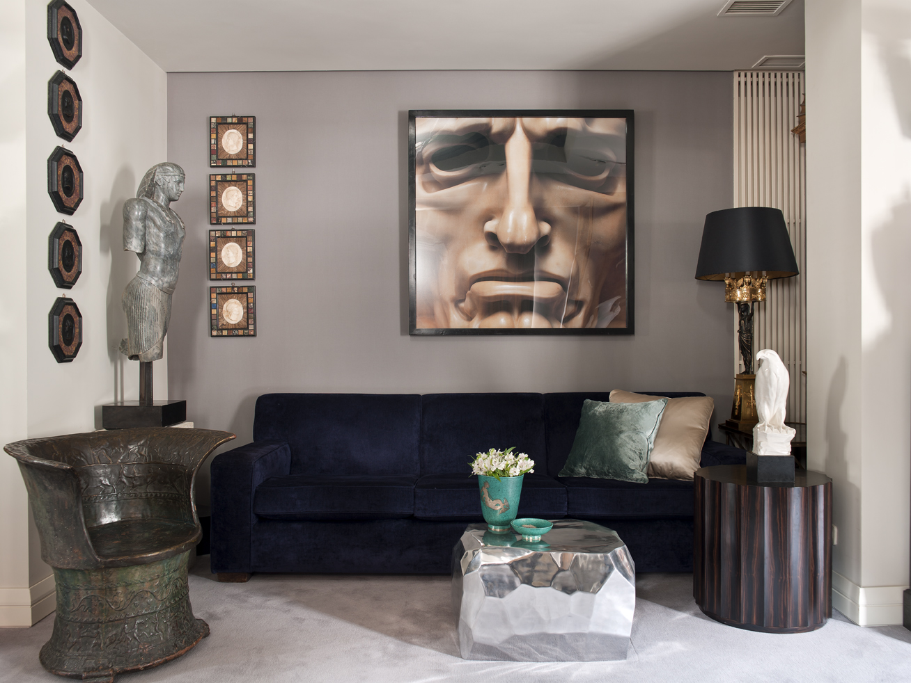 design project, luxury house, furniture, works of art, Neoclassicism, Luxury furniture, abstract art, tribal, contemporary luxury house Classic Meets Modern: Luxury House by Ramon Garcia Jurado Classic Meets Modern Luxury House by Ramon Garcia Jurado 7