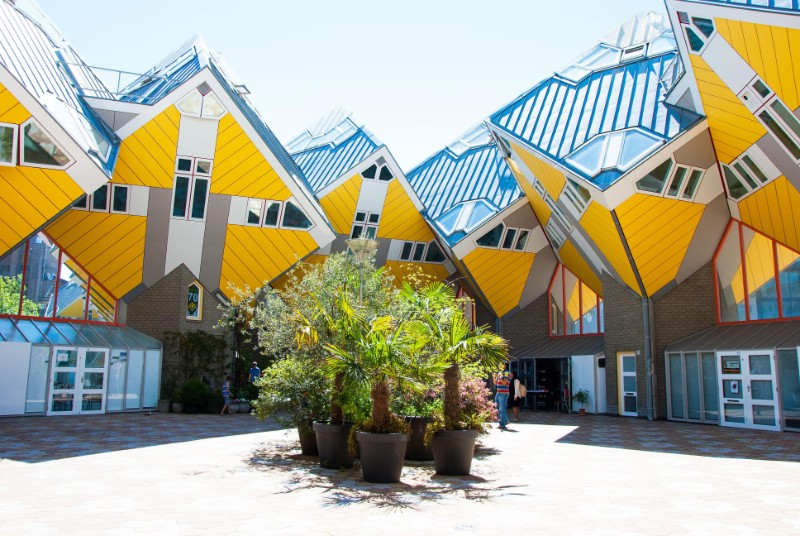 architecture Ultimate Guide to Touring the World's Best Architecture  Cube Houses Rotterdam