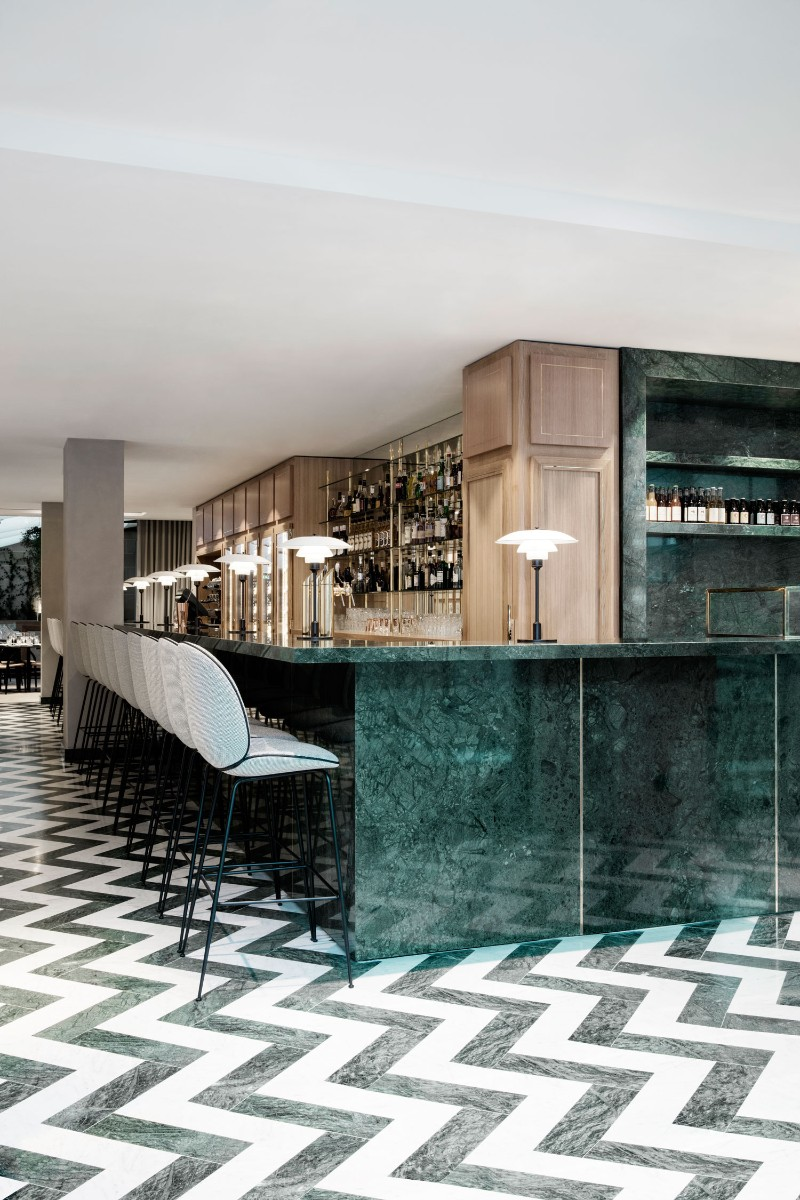 green marble Green Marble: One of The Hottest Interior Trends for Summer 2018 Green Marble One of The Hottest Interior Trends for Summer 2018 14
