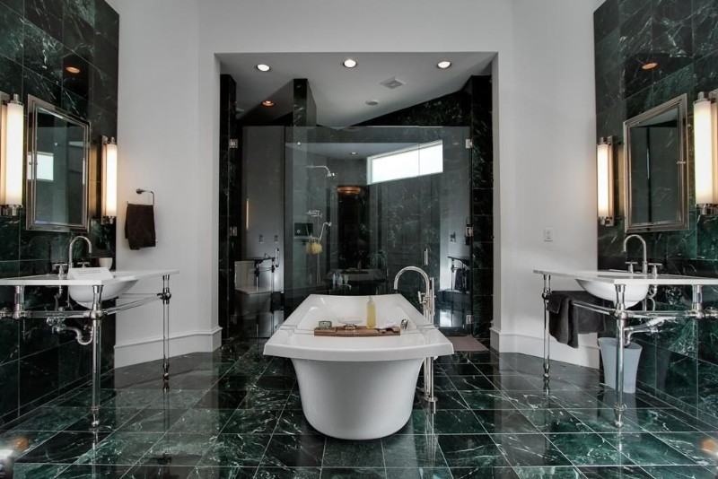 green marble Green Marble: One of The Hottest Interior Trends for Summer 2018 Green Marble One of The Hottest Interior Trends for Summer 2018 18