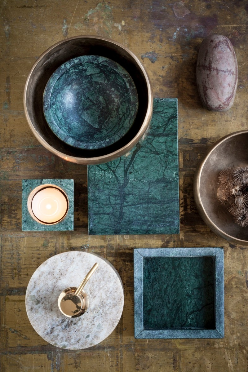 green marble Green Marble: One of The Hottest Interior Trends for Summer 2018 Green Marble One of The Hottest Interior Trends for Summer 2018 5