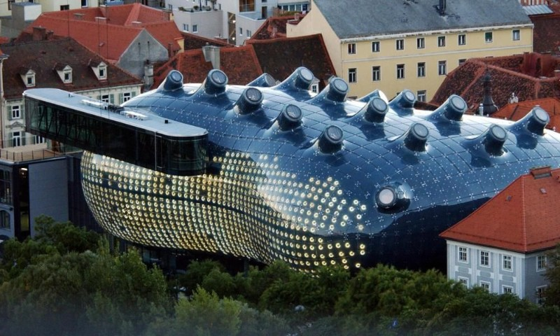 architecture Ultimate Guide to Touring the World's Best Architecture  Kunsthaus Graz
